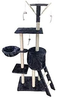 138cm Cat Play Tree/Cat Pole Pet Scratching Post Furniture Home - Blue