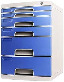 KANJJ-YU Tiroir de bureau Sorter verrouillables Bureau de stockage des données confidentialité Tiroir PC de bureau Tiroir ...