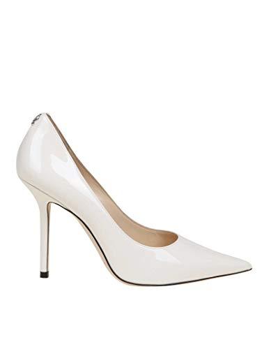 JIMMY CHOO Luxury Fashion Donna LOVE100PWJ Bianco Decolleté |