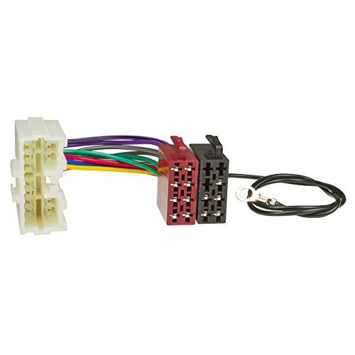 tomzz Audio 7037-002 Radio Adapter Kabel passend für Mitsubishi 1996-2006 auf 16pol ISO Norm