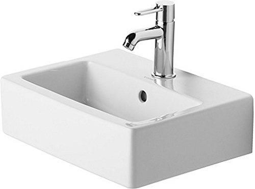 Duravit Handwaschbecken Vero Breite 45cm 1 Hahnloch, weiß WonderGliss 7044500001