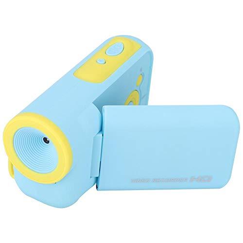 ASHATA Kids Selfie Camera, Mini Portable 2.0in Kleurendisplay Digital Cartoon Kid Kinderen Camera Toy, Kinderen Videocamera Camcorder Toys Geschenken voor 4-10 jaar oude jongens Meisjes(Blauw)