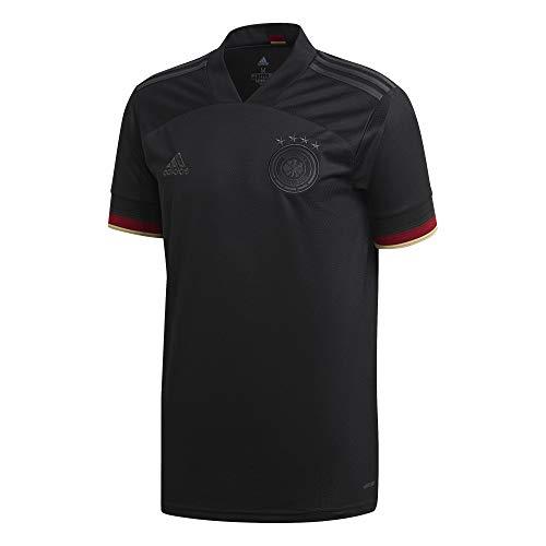 adidas Camiseta de la selección alemana alemana de fútbol. Negro S