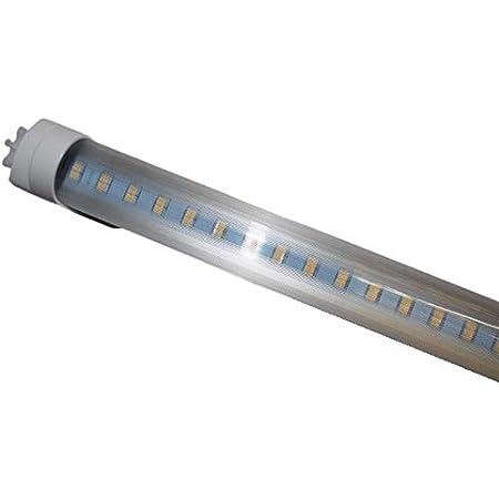Tube lumineux LED [aucun starter nécessaire] Couleur 3200 K Cache prisma T8 Longueur 90 cm (900 mm) Pureté des couleurs IRC > 80 Diamètre 26 mm Culot G13