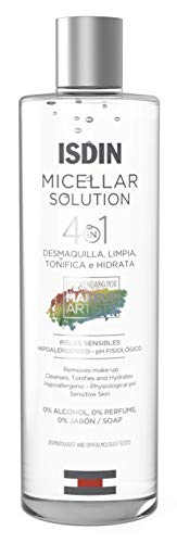 ISDIN Micelar Solution 4 in 1 Acqua Micellare | Deterge, Strucca,...