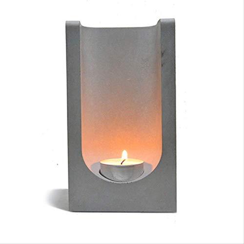 pengpeng Silikon Beton Form Kerzenständer Machen Form Zement Kerze Halter Home Decoration Tool