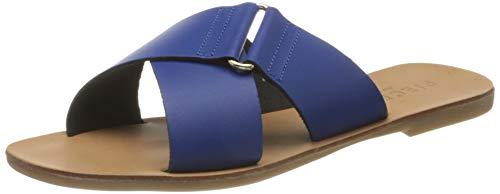 PIECES Psnea Leather Sandal, Plate Femme, Surfez sur Le Web, 38 EU