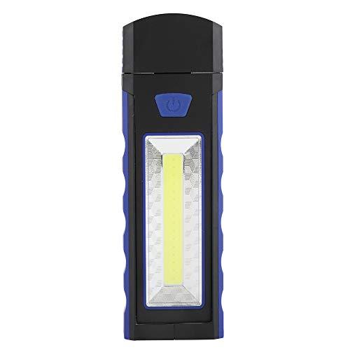 Lámpara de trabajo con base magnética plegable ligera para tienda de campaña COB para acampar Portátil al aire libre