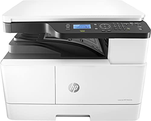 HP Laserjet M442dn 8AF71A, Stampante Multifunzione Monocromatica, Stampa e Scansiona nel Formato A3, Stampa Fronte Retro Automatico preimpostata, No Fax, No ADF, Ethernet, USB, Smart, Bianco