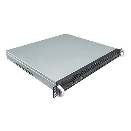 UNYKAch 1029 ATX - Caja Rack Profesional (1u, USB 3.0, Incluye 3 Ventiladores) Color Negro
