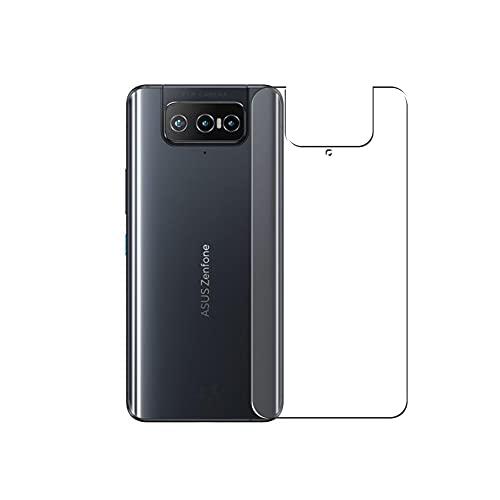 VacFun 2 Piezas Protector de pantalla Posterior, compatible con ASUS Zenfone 8 Flip, Película de Trasera Piel (Not Cristal Templado Funda Carcasa)