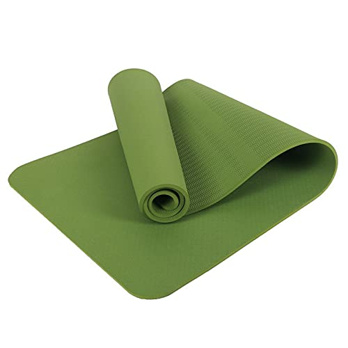 HITREE Yoga Mat - Multi-Purpose 183cm x 63cm Extra Thick Yoga Mats for...