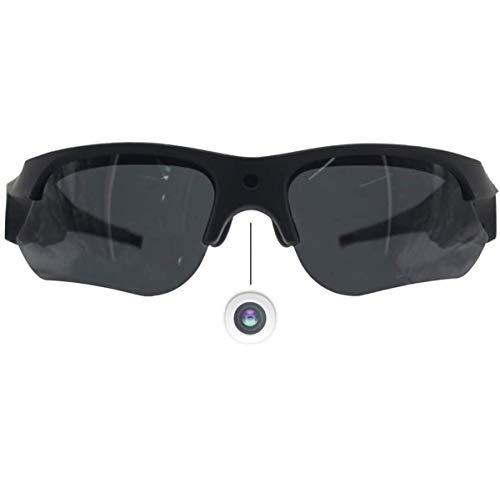 Ugetde Lunettes de soleil HD 1080p avec protection UV