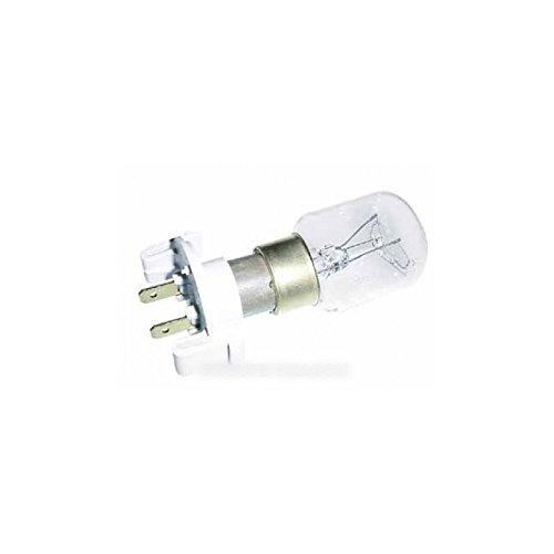 Brandt–Lámpara T2525W Abase 240–250V para Micro microondas fagor