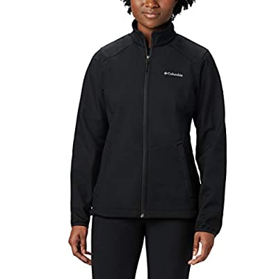 Columbia Women's Kruser Ridge II Softshell, Black, Small