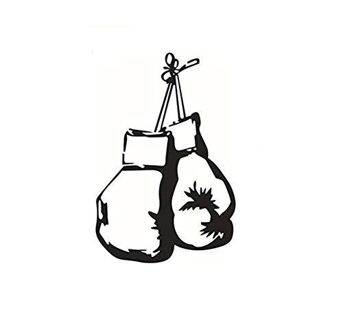Ericcay Aufkleber Boxen Handschuhe Wandaufkleber Selbstklebender Kleber Einfacher Stil Dekoratives Klebeband Notizbuch Mauer Keramikfliese DIY Abnehmbar Fensterbilder Fensterfolien