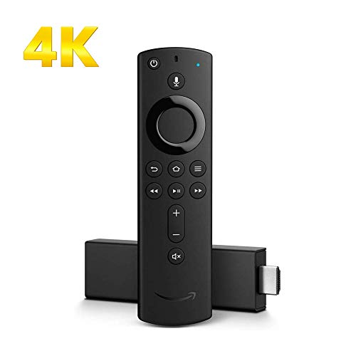 Fire TV Stick 4K with Alexa Voice Remote | Stream in 4K resolution