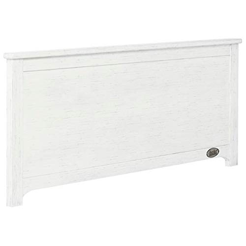 Buy Discount Universal Low Profile Footboard Weathered White Size - Full Modern Contemporary Wood