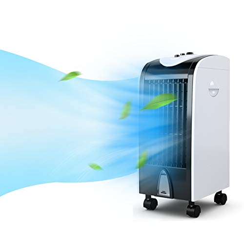 Toolsempire Air Conditioner Cooler, Evaporation Portable Humidifier, Small Mute Air Conditioner Fan With Filter Knob Control