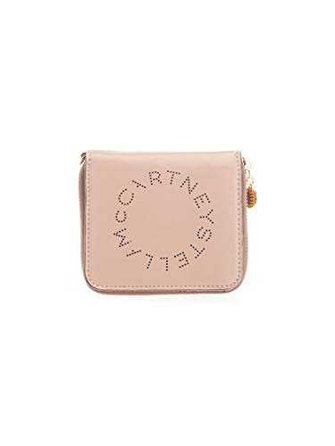 Luxury Fashion | Stella Mccartney Dames 570269W85422800 Roze Leer Portemonnees | Lente-zomer 20