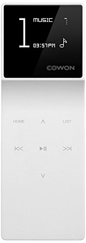 Cowon iAudio E3 MP3- Player (8GB) weiß