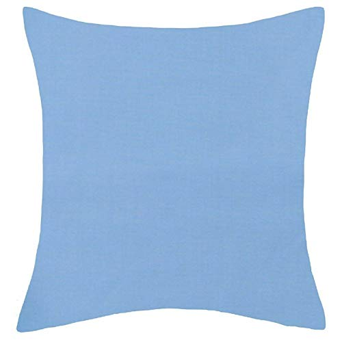 Office Sofa Cushion Cover Home Decor Pillow Case Sky Blue