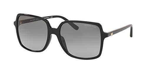 Michael Kors Damen 0MK2098U Sonnenbrille, Black/Grey Shaded, 56
