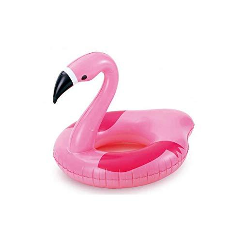 LEMON TREE SL Flotador Hinchable Infantil para niño o niña Flamenco Rosa para Playa o Piscina tamaño 104 * 91 cm