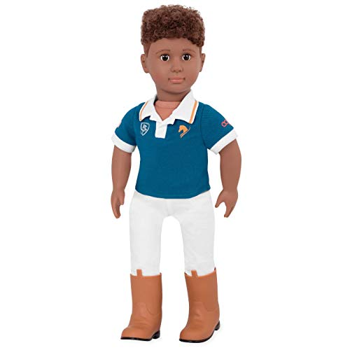 Our Generation Doll by Battat- Tyler 18 Boy Regular Non-Posable Equestrian Horse Riding Doll- for Ages 3 & Up