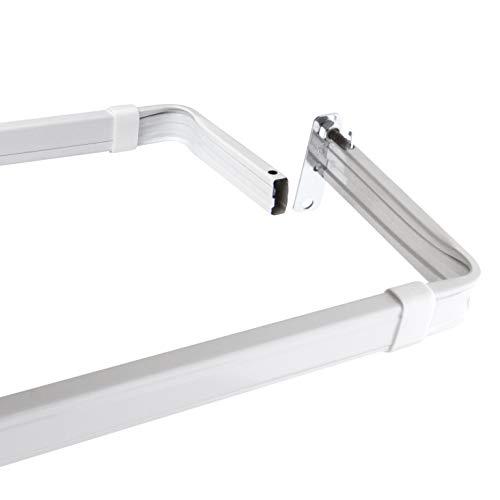 "Lockseam 3"" Clearance Curtain Rod 48-84 inch"