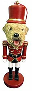 E&S Imports Wheaten Terrier Ornament Nutcracker