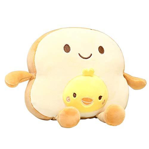 Creative Sliced Bread Plush Pillow Soft Filled Baby Bread Pillow Cute Soft Doll pokemon plush toys