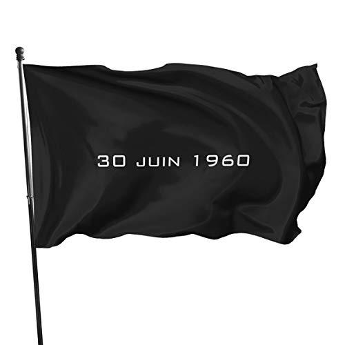 Congo Independence - Bandera de Lumumba Che Guevara, 3 x 5 pies