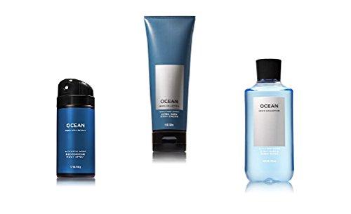 Bath Body Works Men's Ocean Spray, Cream and Body Wash