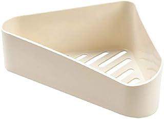 タオルスタンド 浴室コーナー棚浴室のシャンプーシャワー棚ホルダー収納はオーガナイザーが三脚バスルームアクセサリーラックラック JFYJP (Color : ベージュ, Size : フリー)