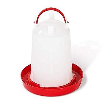 IDMarket - Lot mangeoire 7,5 kg et Abreuvoir 10L pour Poules et volailles