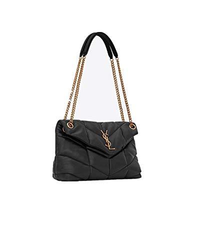 Saint Laurent Women'S Loulou Puffer Small Quilted Lambskin Handbag