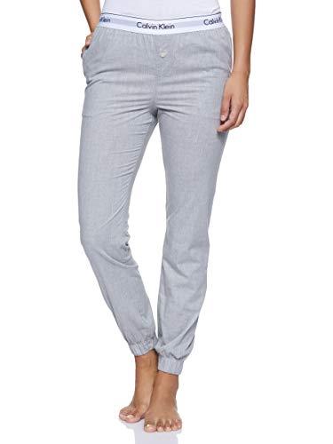 Calvin Klein Damen Jogger Sporthose, Grau (Grey Heather 020), W(Herstellergröße: L)