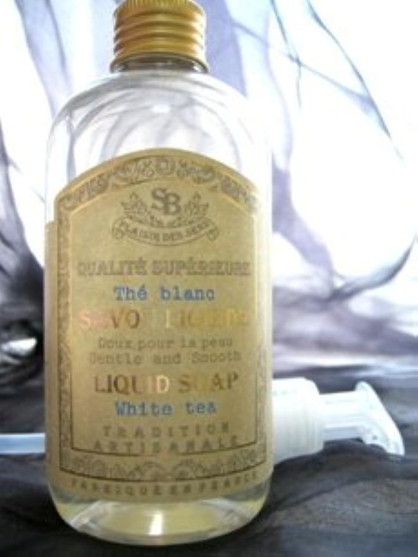 サンタール?エ?ボーテ 【フレンチクラシック】リキッドソープ ホワイトティー 250ml ボディソープ / バブルバス / グラース産天然香料 / プロヴァンス