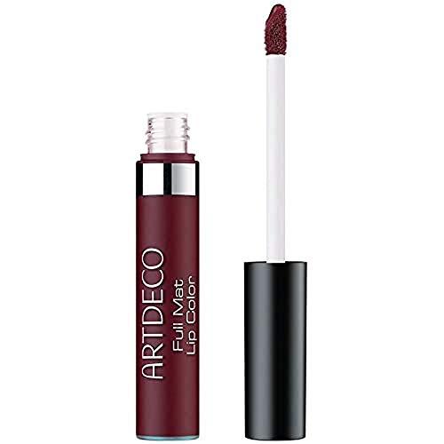 ARTDECO Full Mat Lip Color Long-Lasting, langhaltende Lippenfarbe für matte Lippen, Nr. 30, plum noir