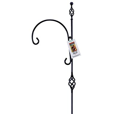 Gardman R194 Barley Twist Single Shepherd Hook, 12  Wide x 80  High