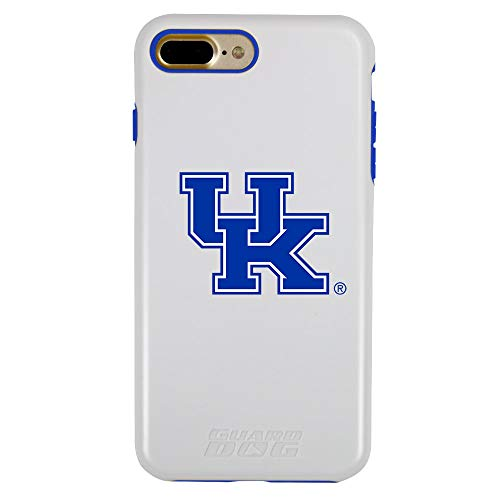 Guard Dog NCAA Hybrid Case for iPhone 7 Plus / 8 Plus – Kentucky Wildcats – White