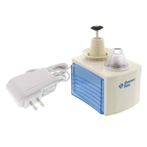 CCC Comfort Zone Ultrasonic Turn Bottle into into Personal Portable Humidifier - 6 Hour Operation - Whisper Quiet, Travel