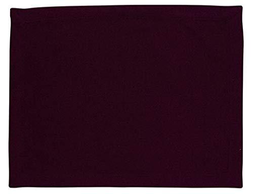 Scantex Tischset Lunch Dark Purple, 34x45 cm, 6 Stück, 100% Baumwolle