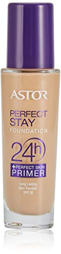 Astor Perfect Stay 24h Make Up plus Perfect Skin Primer, 200 Nude, 1er Pack (1 x 30 ml)