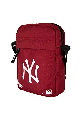 New Era MLB Side Bag Neyyan Car Bandolera, Unisex Adulto, Dark Red, Talla Única
