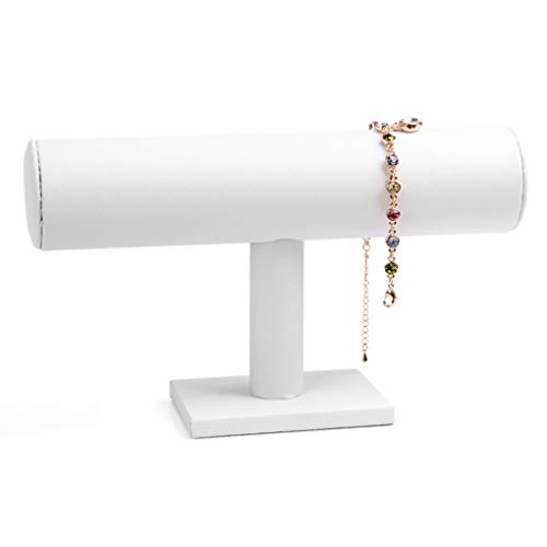 Mingtongli Joyería de la Pulsera del Reloj del Estante Pendientes del Collar de la Banda de muñeca de Ante la exhibición del Montaje del sostenedor Soporte