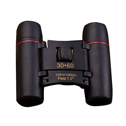 DBSUFV Taschen-Mini-Fernglas Sakura 30X60 Weitwinkel-tragbares Nachtlichtteleskop bei schlechten Lichtverhältnissen Super klares Weitwinkel-Teleskop