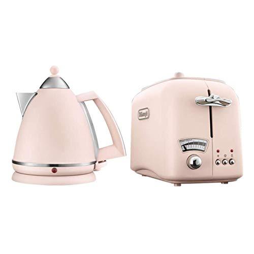 Leuchtender Glaskessel 17 Liter 3000 Watt & Impressionen Toaster Pink Wasserkocher + Toaster