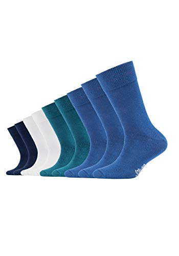s.Oliver Socks Jungen Socken S20031, Gr. 40 (Herstellergröße: 39/42), Blau (blue 30)